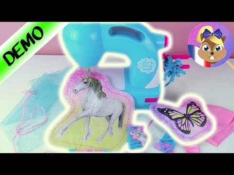 Cool Maker Sew N Style Machine How To Make A Glitter Pouch 4d