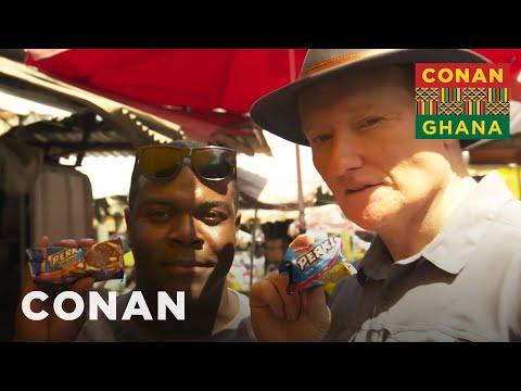 Conan v Ghaně #3: Trh Makola