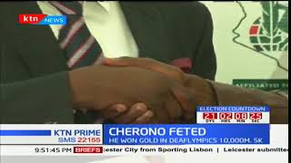 After his success in Deaflympics in July Simon Cherono named inaugural star by Startimes
