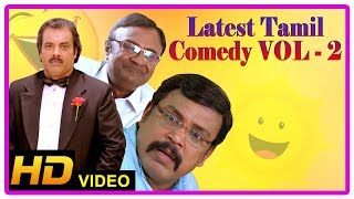Latest Tamil Comedy Scenes 2018 | Best Comedy Collection | Vol 2 | Santhanam | Thambi Ramaiah