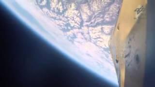 Полёт в космос и приземление немецкой исследовательской ракеты