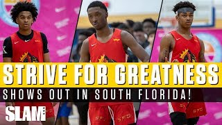 Strive For Greatness SHOWS OUT in South Florida! Dior Johnson & Skyy Clark Dominate 😤