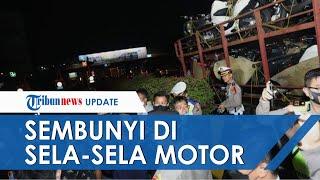 Nekat Mudik dengan Ngumpet di Sela-sela Motor yang Diangkut Truk, 10 Orang di Tangerang Ditangkap