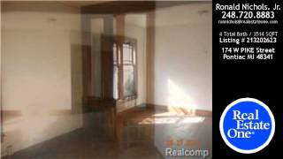 preview picture of video '174 W PIKE Street, Pontiac, MI - $129,900'