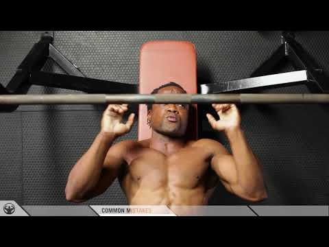 BUILD THE LOWER CHEST: Correct method using the DECLINE BENCH PRESS