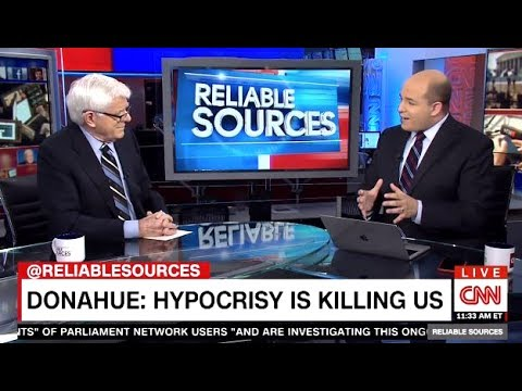 Phil Donahue - TRUMP: Hypocrisy Is Killing Us, 50% Didn't Bother To Vote - CNN