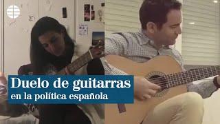 Duelo de guitarras entre Rocío Monasterio y Teodoro García Egea