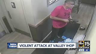 Man attacks women inside Phoenix IHOP restaurant