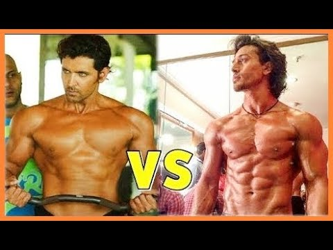 top best body in bollywood tiger shroff vs hrithik roshan wh