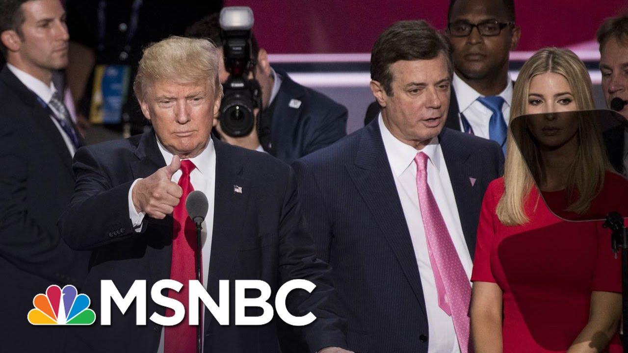 Paul Manafort Scrutinized For Russia Ties | Morning Joe | MSNBC thumbnail