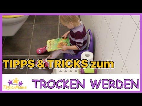 Tipps & Tricks zum Trocken werden - TSCHÜSS WINDEL - HALLO TÖPFCHEN! / Täglich Mama