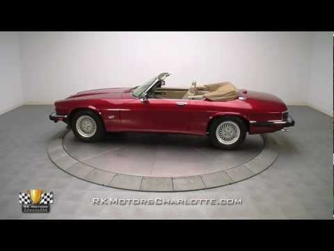 1992 Jaguar XJS Convertible Quick Look