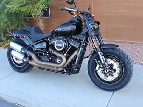 2018 Harley-Davidson Fat Bob® 107 in Kingman, Arizona