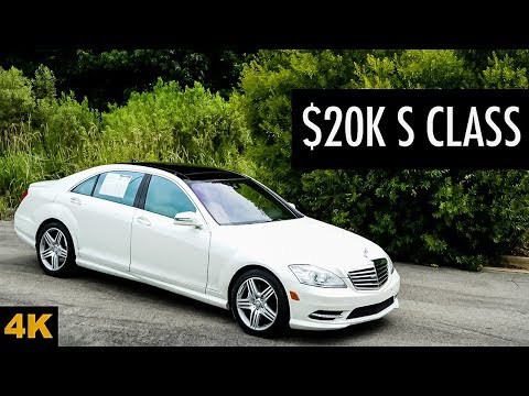 This 2013 Mercedes Benz S550 Is Now Yours For $20,000