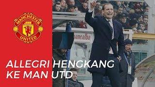 Juventus Panen Uang jika Allegri Hengkang ke Manchester United