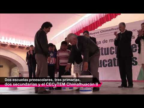 Otorgamos materiales para rehabilitación de instituciones educativas