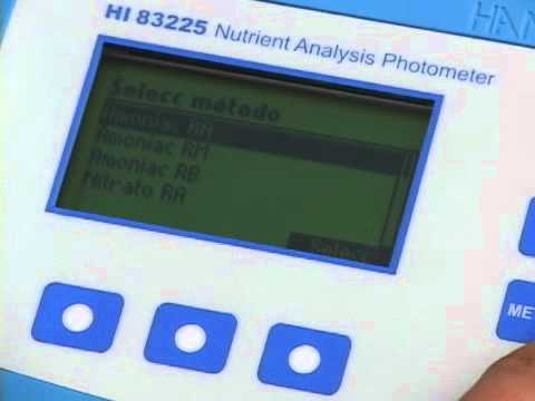 Video instructivo HI 83225