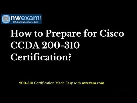 Latest Study Guide   CISCO CCDA 200-310 Certification Exam ...