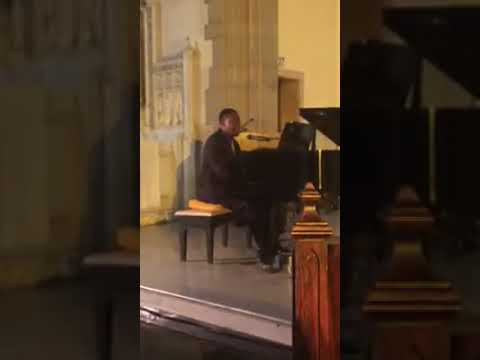 "This is me performing my original song ""There's No Giving Up Now"" for my junior voice recital."