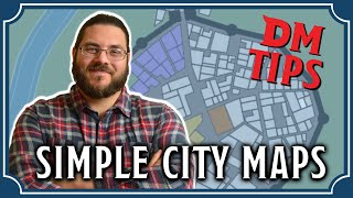 How To Make Simple City Maps For D&D | DM Tips 4