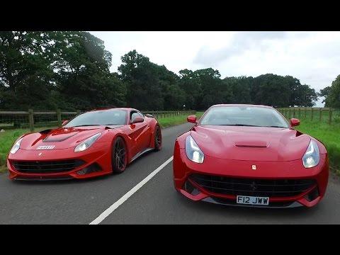 Ferrari F12 vs £500,000 Novitec N-Largo