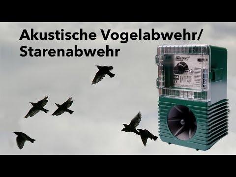 Purivox - BirdGard Akustische Vogelabwehr