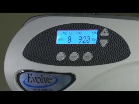 Easily operate your Evolve® water softener in your home with this how-to video. Learn how to check water regeneration days, gallons remaining, flow rate, and set to vacation mode.