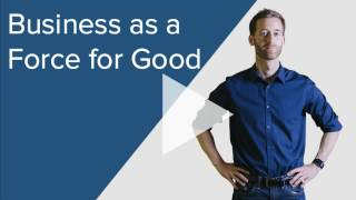 Business as a Force for Good – Cameron Madill at EO Talks 2017
