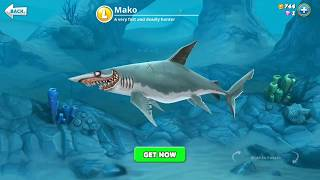 hungry shark world mako (3D Motion)