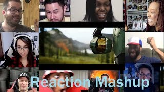 Halo Infinite Trailer  Halo Infinite Reveal Trailer at E3 2018 REACTION MASHUP