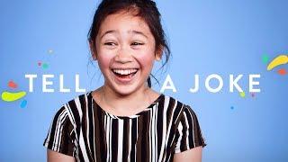 100 Kids Tell a Joke | 100 Kids | HiHo Kids