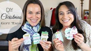 DIY Christmas Gift Tags! W/ Kari! // Justine Marie