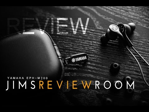 Yamaha EPH-M200 Earphones - REVIEW