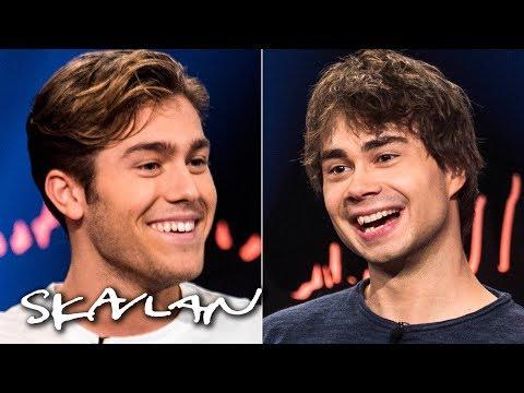 Eurovision's Rybak and Ingrosso do talk show interview together | English sub. | SVT/NRK/Skavlan