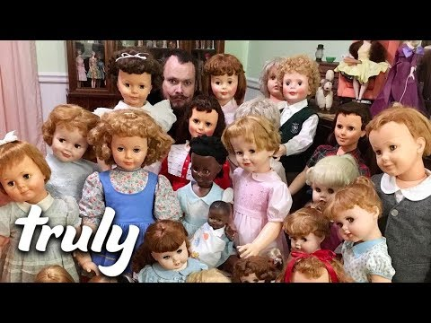 Couple Live With 200 Plastic 'Children' | TRULY