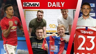 TRIPPIER TO ATLETICO MADRID FOR £20m! Man United, Man City & Palace Pre Season Games Reaction!