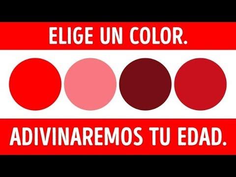Elige Un Color y Adivinaremos Tu Edad