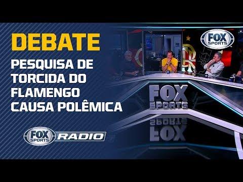 FLAMENGO X CORINTHIANS: Pesquisa sobre torcidas gera debate no FOX Sports Rádio