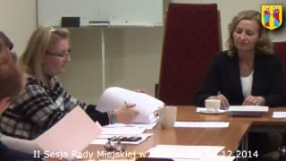 preview picture of video 'II Sesja Rady Miejskiej w Baborowie - 04.12.2014'
