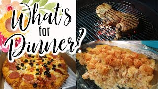 """WHAT'S FOR DINNER 