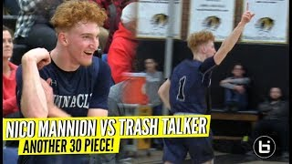 Nico Mannion Reponds To TRASH TALKER & Goes OFF for 31 POINTS!! What Else Was Gonna Happen 😂