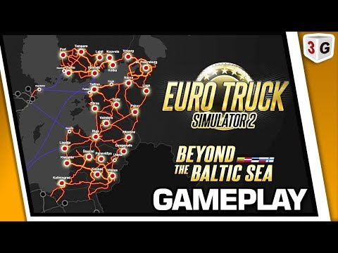 Euro Truck Simulator 2 DLC Beyond the Baltic Sea: New