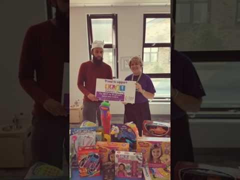 Eid-Ul-Fitr 2017 - Eid Gifts for Poorly BRI Childrens Ward 60