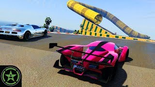 Let's Play - GTA V - Cunning Stunts feat. Robbie Kay