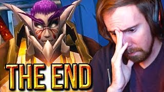 "Asmongold Reacts To UberDanger's ""THE END 