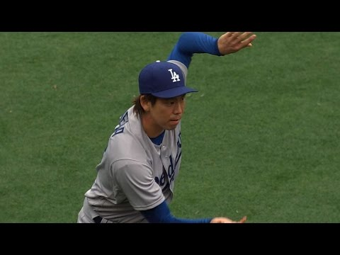 4/6/16: Maeda's memorable MLB debut leads Dodgers past Padres