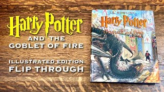 Harry Potter ILLUSTRATED EDITION Flip Through | Goblet Of Fire Illustrated By Jim Kay