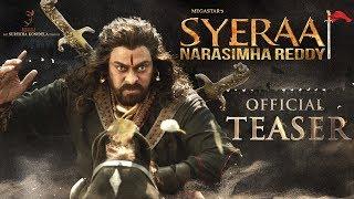 Sye Raa Narasimha Reddy - Official Teaser