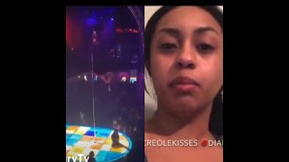Stripper That Fell Off The Stripper Pole Speaks About Her Injuries!!