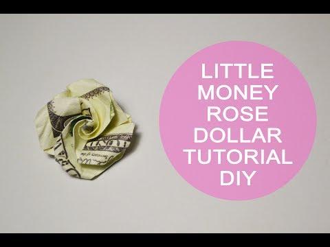 Diy Origami Rose Money Superholly